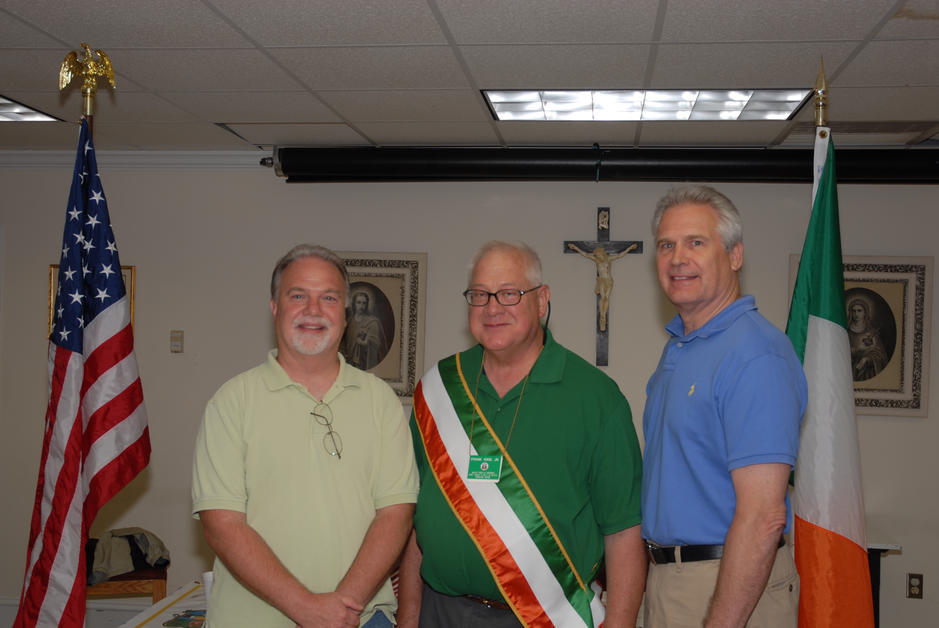 Frank King and New Members
