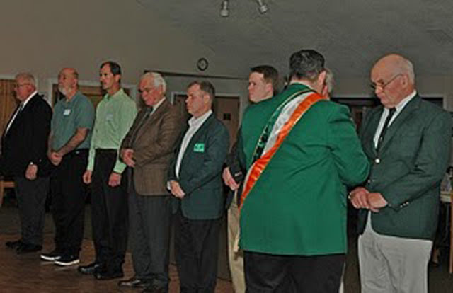 New Officers Initiation